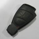 Замена кнопок ДУ в электронном ключе для Mercedes.