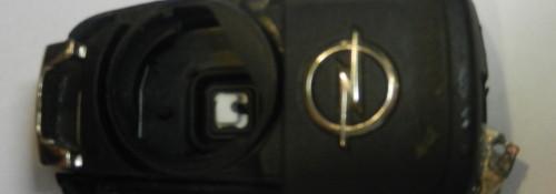 Замена корпуса выкидного ключа для автомобиля Opel Astra